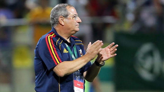 Ginés Meléndez al futbol de Armenia