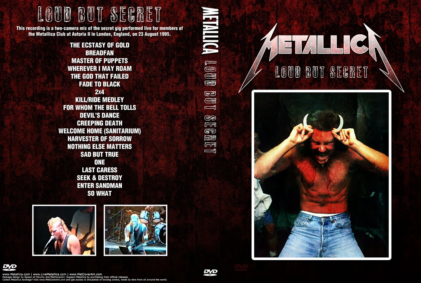 T U B E : Metallica - 1995-08-23 - London, UK (2xDVDfull aud