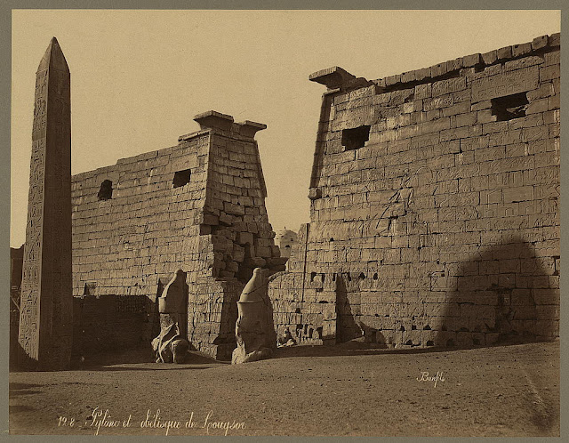 Photos Of Ancient Egyptian Monuments More Than 100 Years