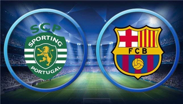 شاهد مباراة برشلونة وسبورتنغ لشبونة اليوم بث مباشر دوري أبطال أوروبا يلا شوت