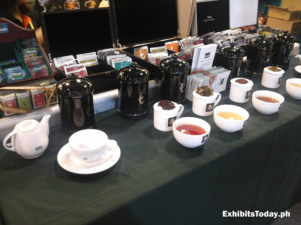 Dilmah Tea Trade Show Booth Displays