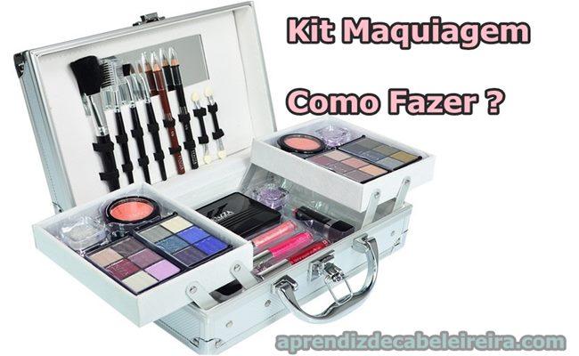 Como Montar um Kit de Maquiagem Completo