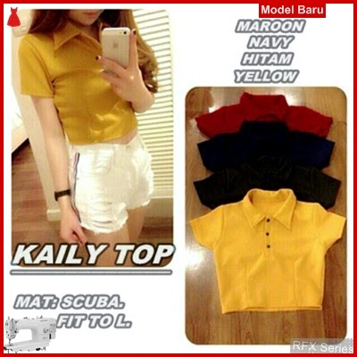 RFX090 MODEL KAILY TOP FIT TO L BODY CROP MURAH ONLINE