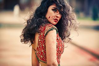 Red Designer Ghagra Choli.jpg