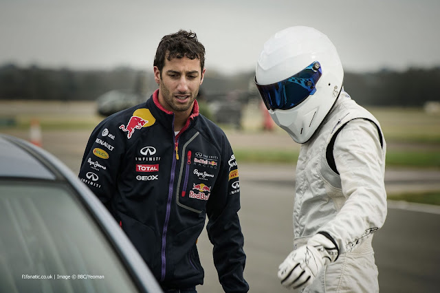 Driver Stig Top Gear