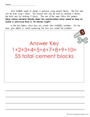 A free math project perfect for 2nd and 3rd grade kids! This idea can be used as a math assessment at the beginning of the school year or in a unit on the varieties of ways to solve mathematical problems. Click for the freebie!