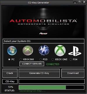 Automobilista CD Key Generator (Free CD Key)