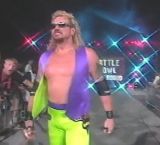 WCW Slamboree 1996 Review - DDP teamed with Barbarian to face Meng & Hugh Morrus