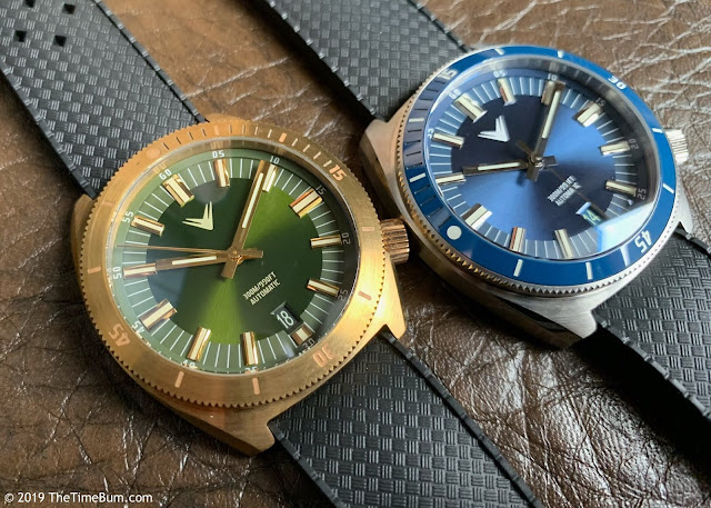 Ventus Northstar Forest Green Brass and Admiral Blue