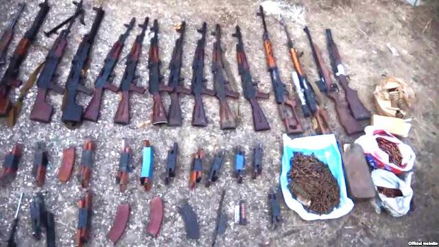 Encuentran armamento de guerra en casa de ex ministro de Armenia