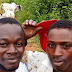 Between Sam Loco's Son And Fulani Herdsman After His Car Got Stuck In A Mud.PICS