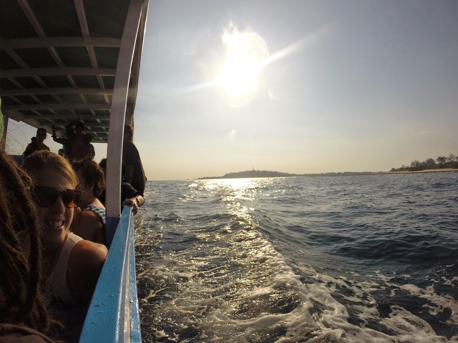 speedboote von padgang nach gilli trawagang