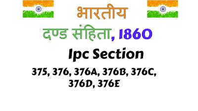 भारतीय दंड संहिता की धारा 375 (Section 375 in The Indian Penal Code, 1860)