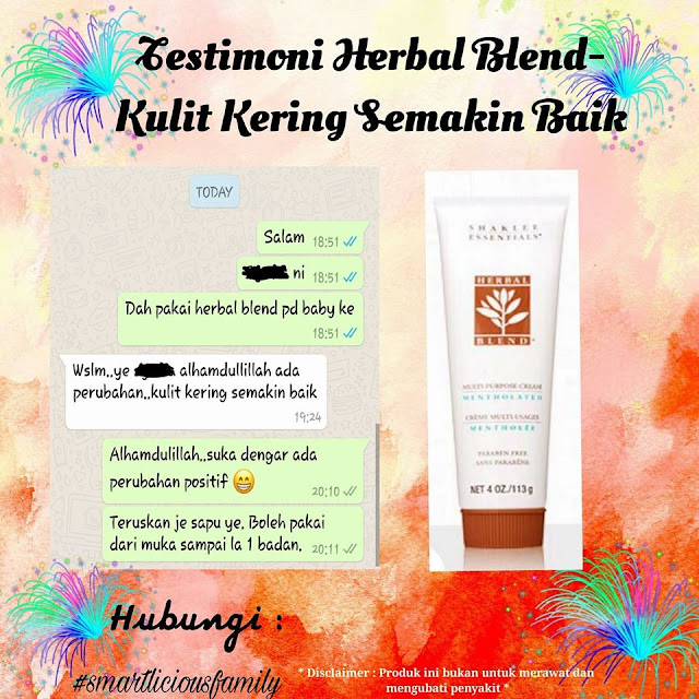 testimoni herbal blend multi-purpose cream