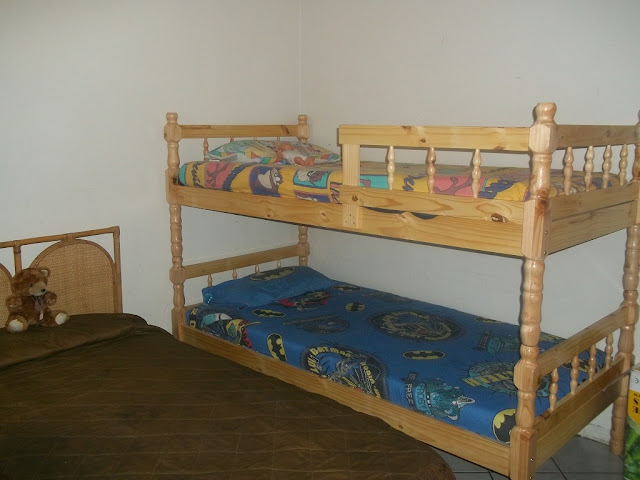 The new beds donated by the Hollywoodbets Ladysmith team to Victory Haven - Ladysmith Child Welfare