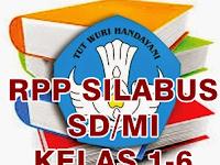 Kumpulan RPP dan Silabus SD Kelas 1 - 6 Kurikulum 2013 Terbaru
