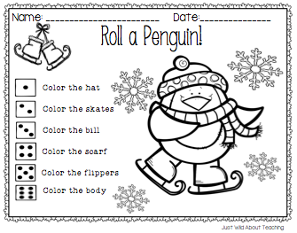 Just Wild About Teaching: Playful Penguins!