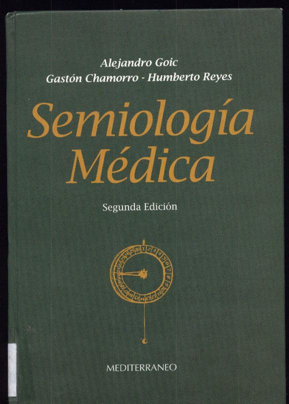libro semiologia medica alejandro goic