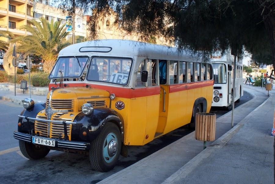 Los autobuses en Malta