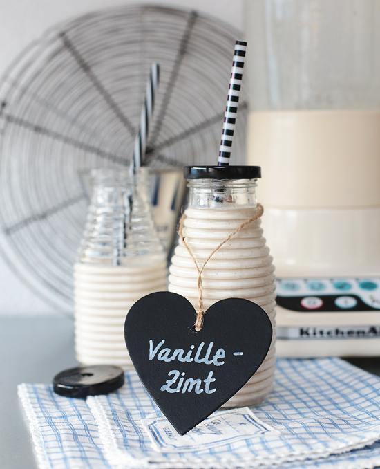 Zimtschnecken Smoothie Vanille Zimt