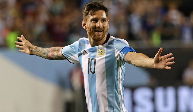 Argentina ya rentabiliza la vuelta de Messi