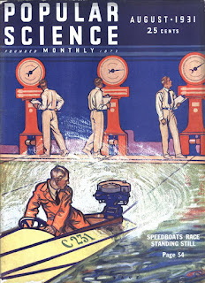 Capa da revista Popular Science de 1931
