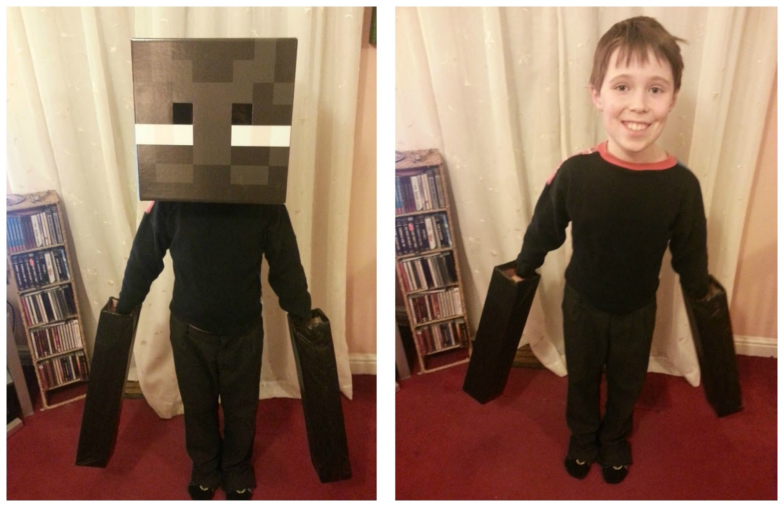 An Enderman Costume For World Book Day The Parent Game