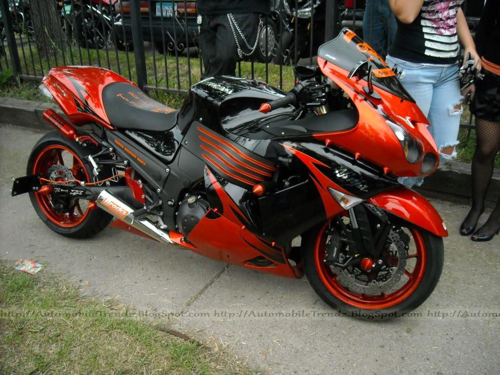 Modifikasi Motor Kawasaki Ninja ZX Ceper Foto Gambar Modifikasi