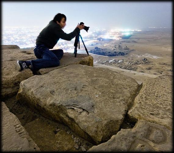 giza 2 - Increíbles fotos de la parte superior de la pirámide de Giza