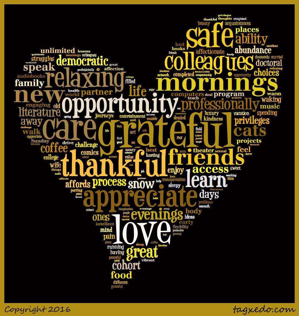 march s gratitude