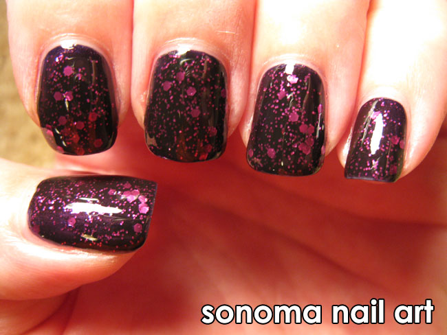 Maleficent And Facets Of Fuchsia Giveaway Sonoma Nail Art