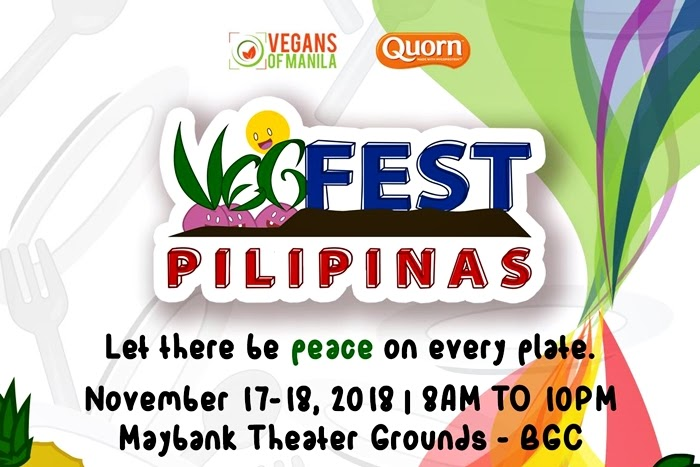 The VegFest Pilipinas 2018, a vegan food and lifestyle event in Manila Philippines - YedyLicious Manila Food Blog