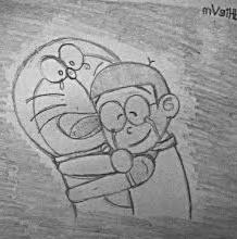 trik dan tips membuat gambar kartun Doraemon