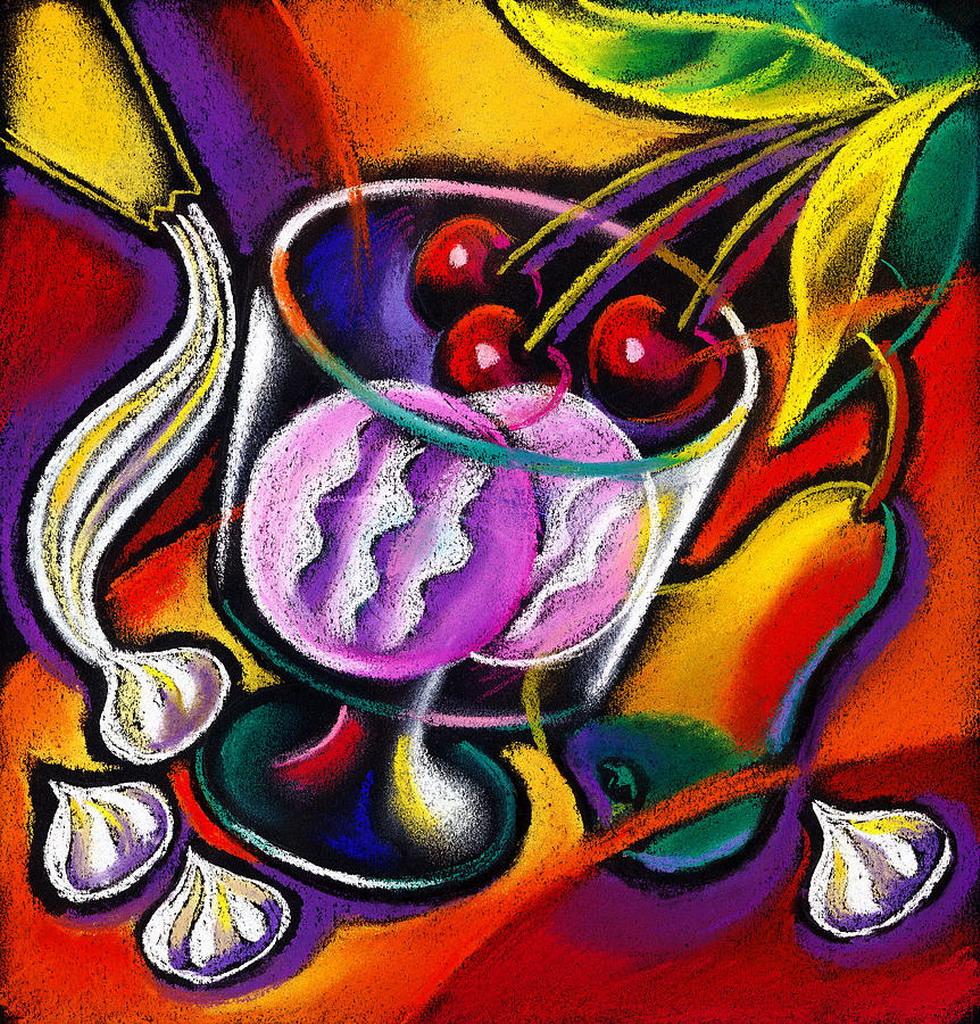 Cuadros modernos pinturas y dibujos frutas compendio de - Cuadros de pintura ...