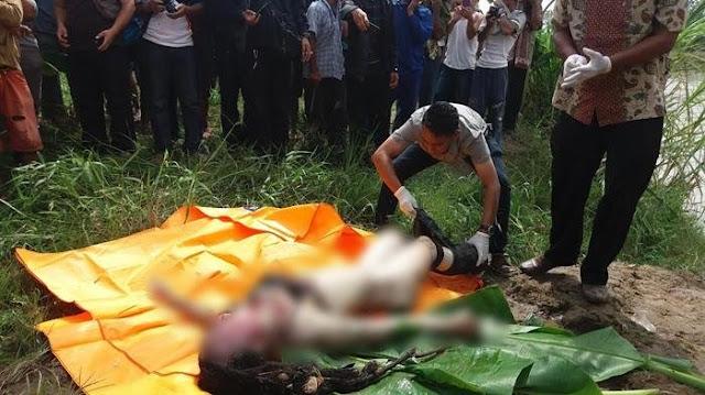 Wanita Diperkosa Dan Dibunuh , Mayatnya Dibuang di Kebun Karet.