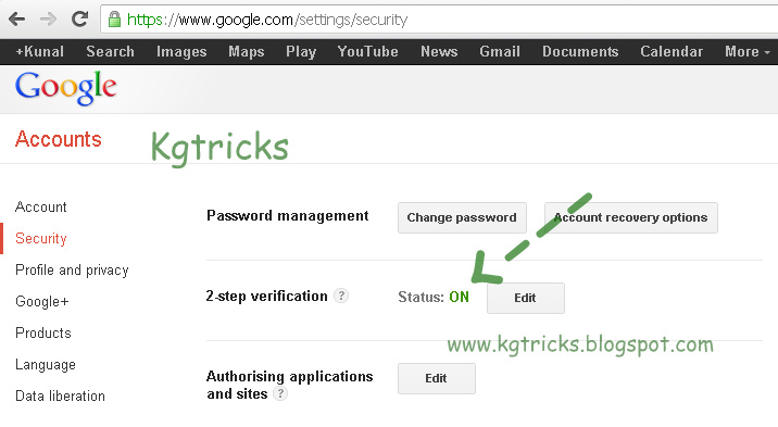 Set Up 2 Step Verification In Gmail