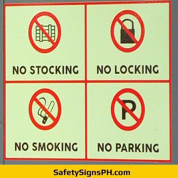 Luminous Prohibition Signs Philippines