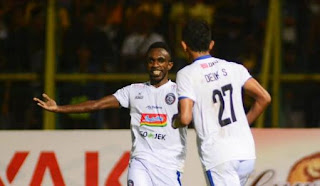 Arema FC ke Final Piala Presiden 2019, Singkirkan Kalteng Putra