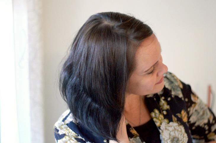 hiusten luonnonmukainen värjäys