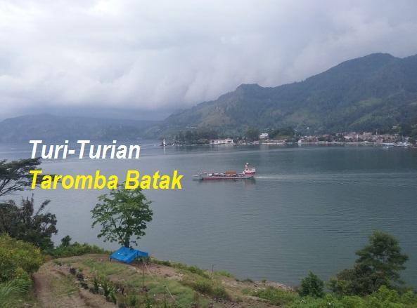 Turi-Turian Mengenai Taromba Batak - Background Foto Danau Toba Yang Indah