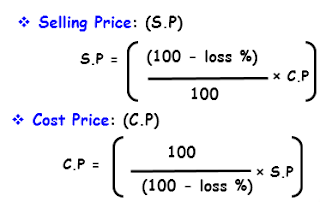 Profit and Loss Questions asked in Government jobs Competitive exam