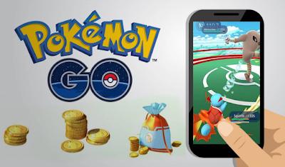 cara dapat coin pokemon go gratis