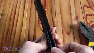 Cara Membuat Panahan Mini dari Binder Clip Penjepit Kertas