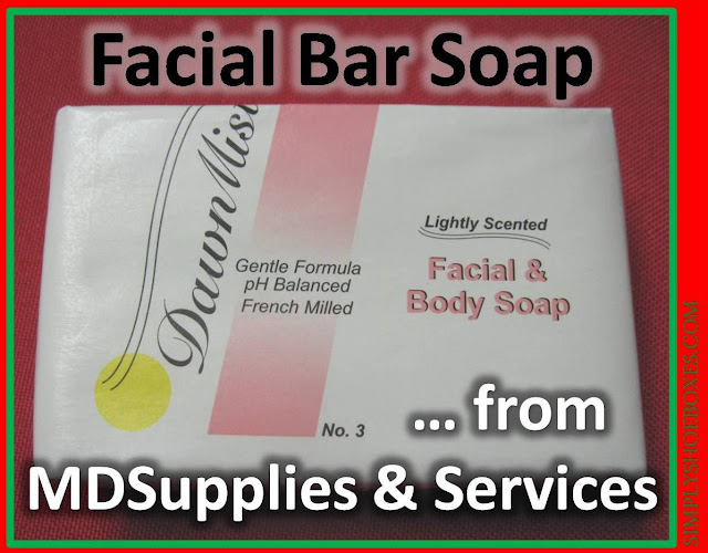 MDSupplies & Services facial bar soap review and recommendations for Operation Christmas Cihild shoebox packing.