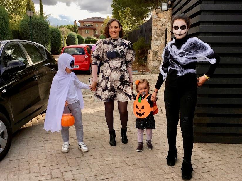 @Nosinmishijos de fiesta de Halloween