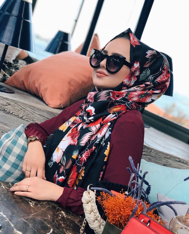 2019 Fashion Hijab Avec And Lunettes 80vnmnw Style Chic vmnwO0yN8