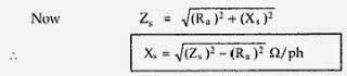 Voltage Regulation Of  Alternator Using Synchronous Impedance Method