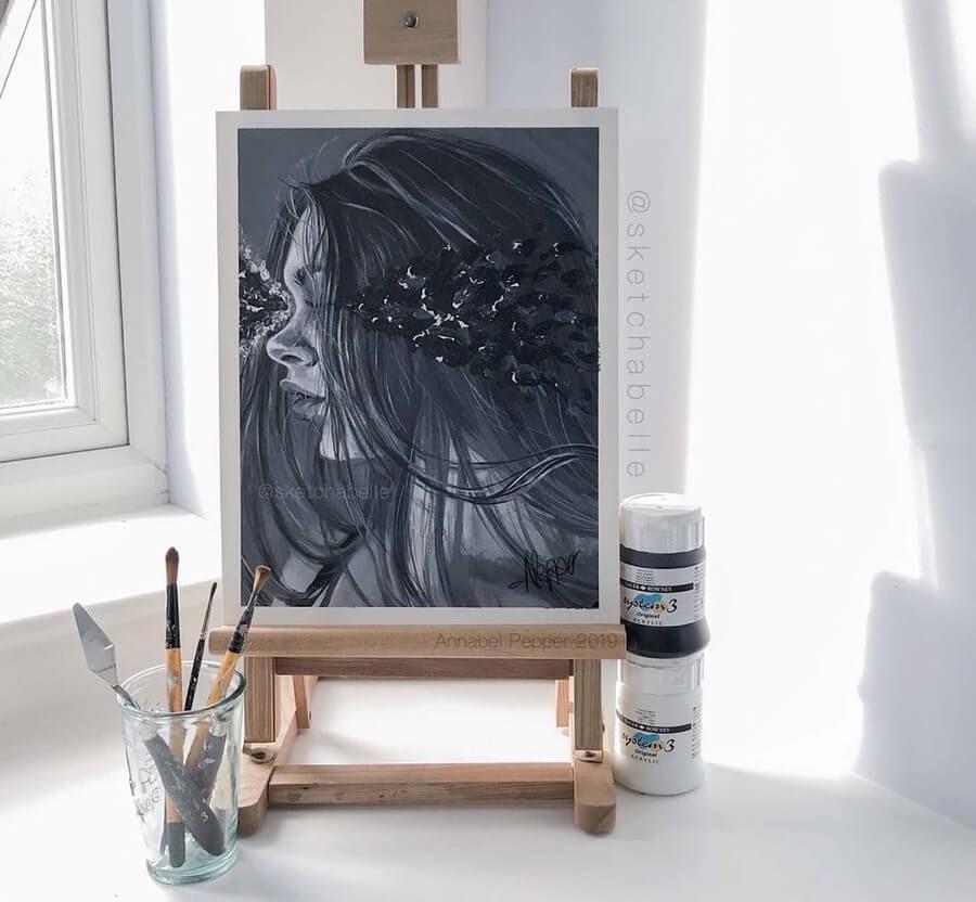09-Annabel-Portrait-Drawings-www-designstack-co