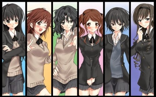 Amagami SS S1 | 480p | TVRip | English Subbed