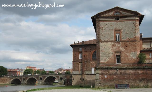 Por las orillas del Río Garonne, Toulouse